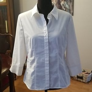 Great button down  Large Petite blouse